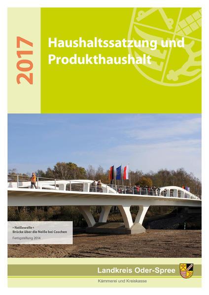 Bild vergrößern: Titelblatt des HaushalsplanesTitelblatt des Haushalsplanes